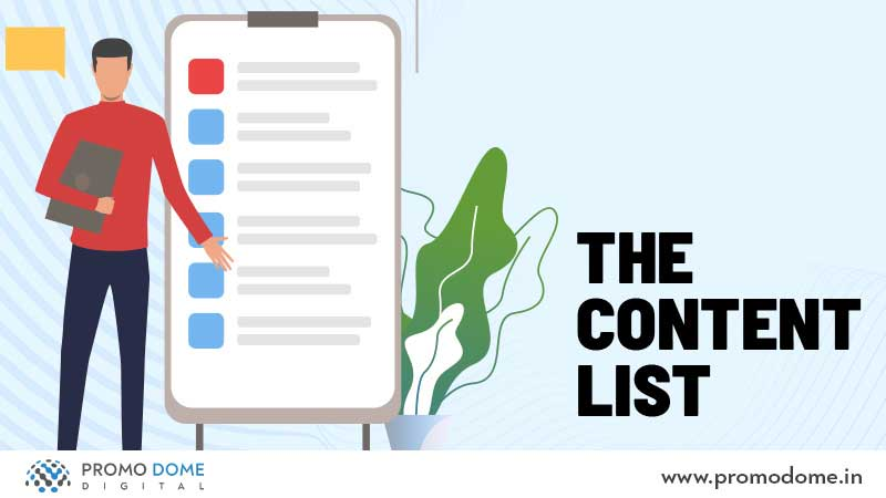 The Content List