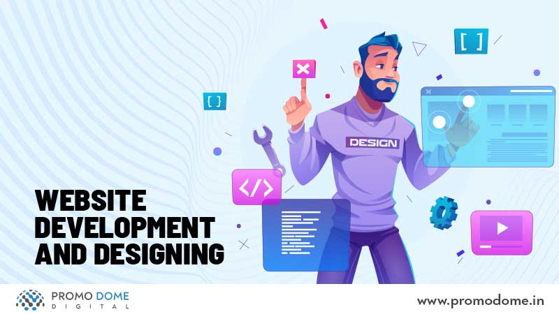 Website Development and Designing by a Digital Marketing Agency