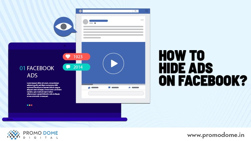 How to hide ads on Facebook?